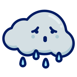 character, cloud, inkcontober, rain icon