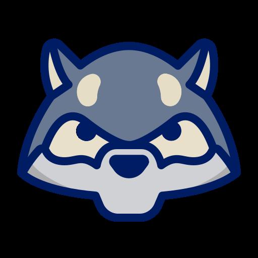 character, cute, fierce, inkcontober, wolf icon