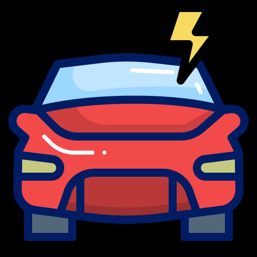 car, flash, furious, inkcontober icon