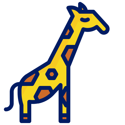 Animal, character, girrafe, inkcontober icon - Free download