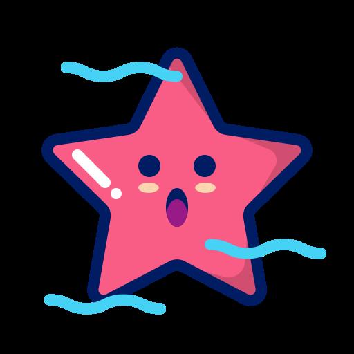 animal, character, deep, inkcontober, starfish, water icon