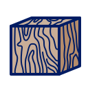 inkcontober, log, teeming, texture icon