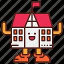 avatar, college, cute, mascot, school
