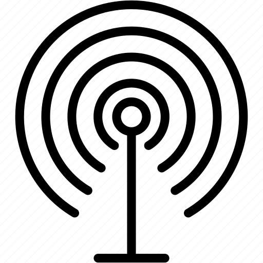 antenna, connect, internet, network, signal, wifi, wireless icon