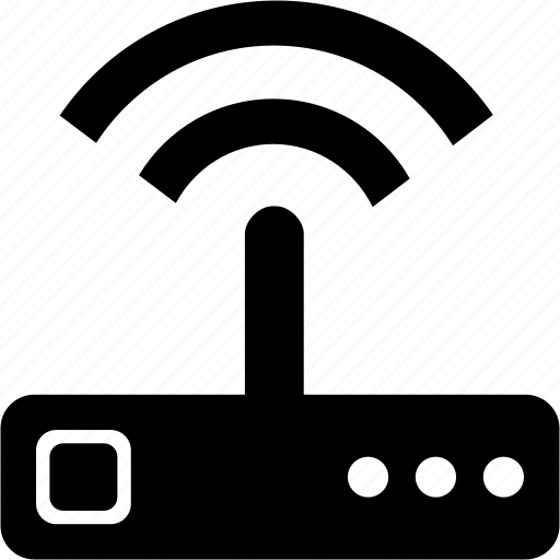 access, connection, hub, internet, router, technology, wifi, wireless icon