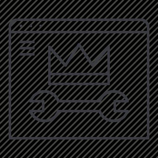 admin, control, panel, settings, tools, website icon
