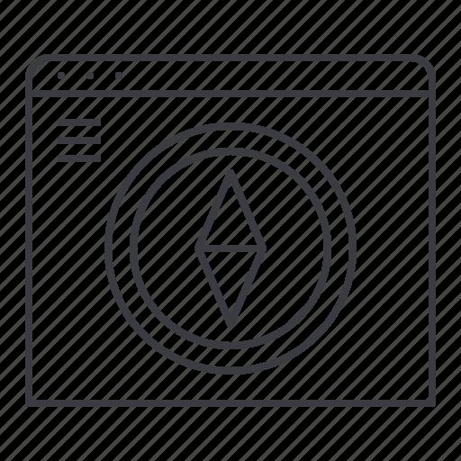 browser, design, navigation, page, web icon