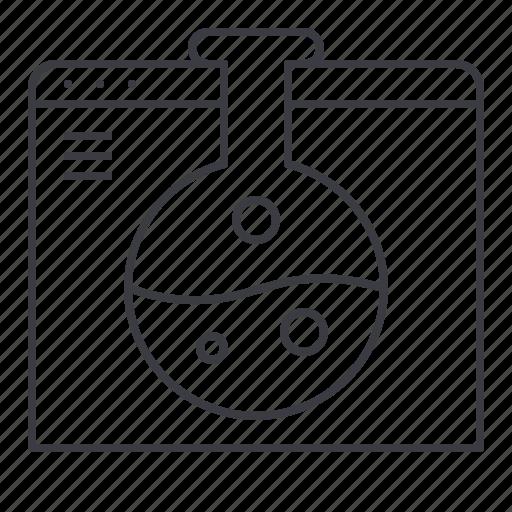 browser, design, development, research, web icon