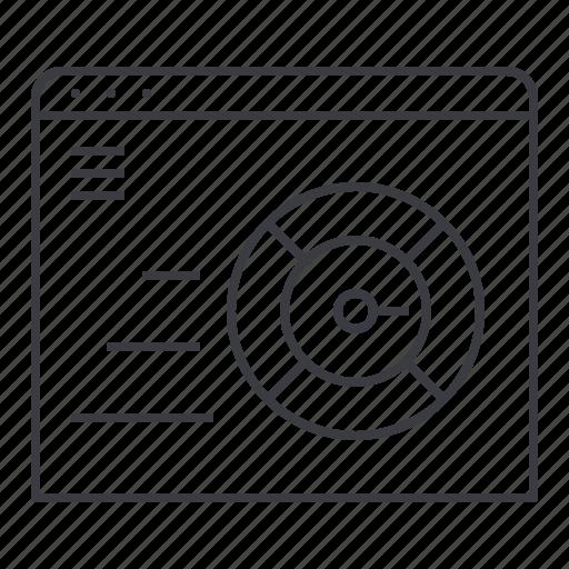 browser, design, internet, speed, test, web icon