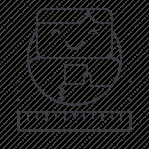 avatar, digital, experience, marketing, testing, user icon