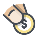 delivery, money, onlin icon