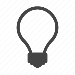 bulb, hint, idea, lamp icon