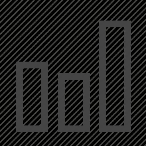 analytics, bars, diagram, statistics icon