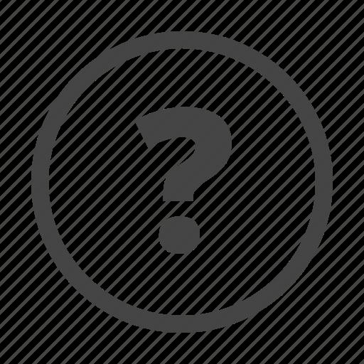 faq, help, question icon