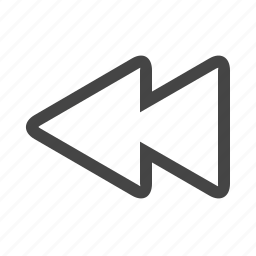 fast, multimedia, skip icon