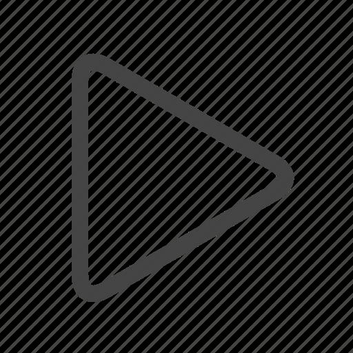 multimedia, play icon