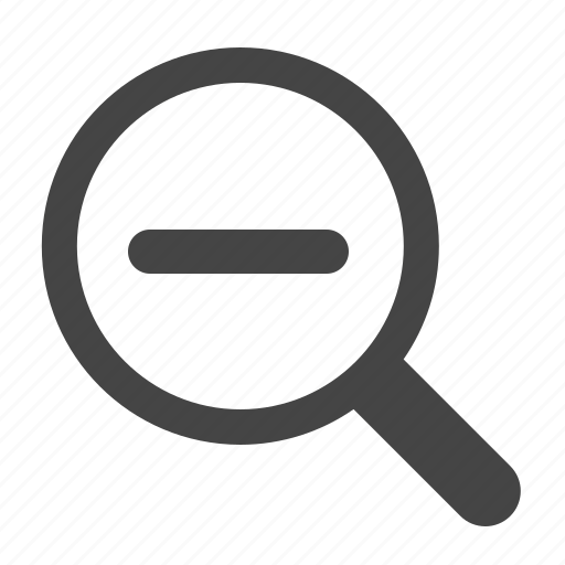 minus, out, zoom, zoom out icon