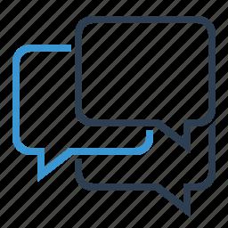 bubble, chat, comments, communication, conversation, forum, message icon