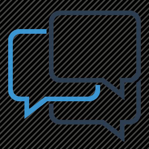 bubble message, chat, comments, conversation icon