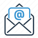 email, envelope, newsletter, subscription icon