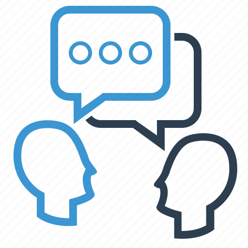 Dialogue, discuss, talk icon - Download on Iconfinder