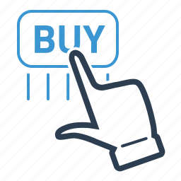 buy, checkout, click, hand, online payment, payment, purchase icon