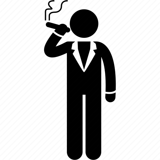 Bad, cigar, man, smoke, smoker, smoking, tobacco icon - Download on Iconfinder