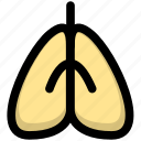 health, illness, lung, lung cancer, pneumonia icon