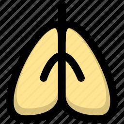 health, illness, lung, lung cancer, pneumonia icon