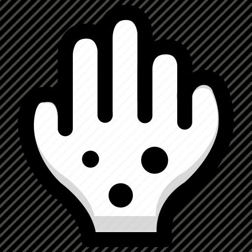 hand, health, illness, measles icon