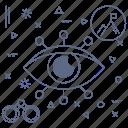 leader, spy, target, vision icon