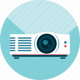 beamer, presentation, projector icon
