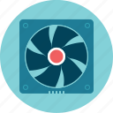 computer, cooler, fan, propeller