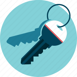 access, keys, security icon
