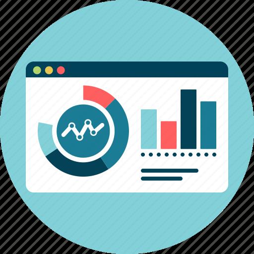 big, control, dashboard, data, results icon