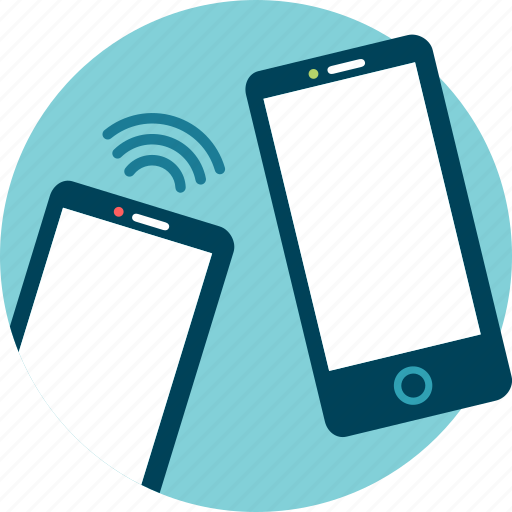 bluetooth, data, mobile, transfer, wi-fi icon