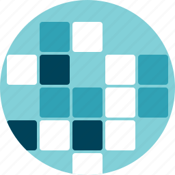 bytes, data, information, puzzle, squares icon
