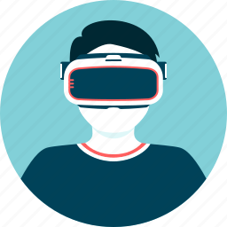 augmented reality, game, glasses, simulation, virtual icon