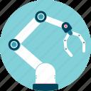 arm, automation, grip, industrialization, mechanical, production, robot