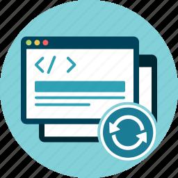 code, refresh, reload, windows icon