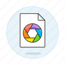 file, files, format, image, picasa icon