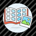 album, book, image, photo, photobook, pictures icon