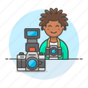 3, camera, dlsr, image, male, photographers, professional, reflex icon