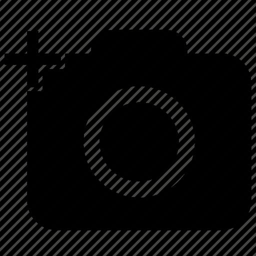 camera, digital, gallery, image icon