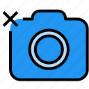 camera, delete, gallery, image, photo icon