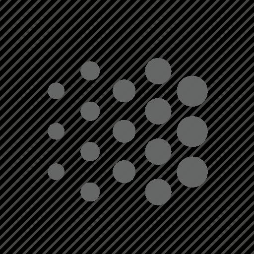 basic, dot, effect, gradient icon