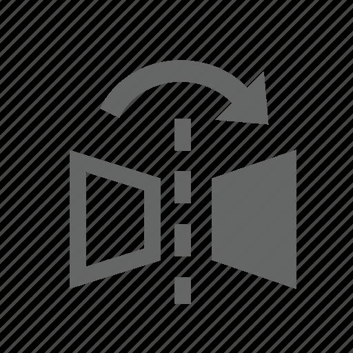 flip, image, mirror, object, reflect icon