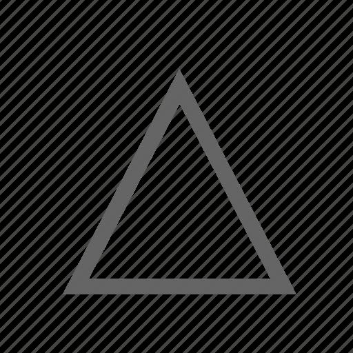 shape, sharp, triangle icon
