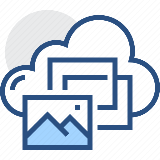 cloud, gallery, image, network, photo, picture, storage icon