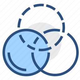 circle, colour, correct, editor, effect, exude, filters icon